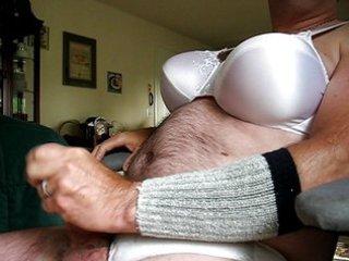 Wifes bra and panties 2