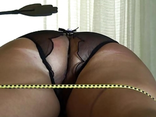 ass castigation of tied wife