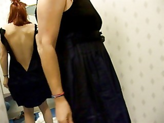 Store dressing room blowjob in returned to rack