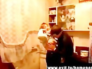 5 drunk russian mommys fucked at party