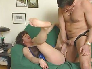 Hairy  mature in action