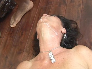 mature hot and willing swallows threesome