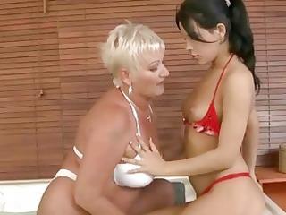 grandma likes young angel