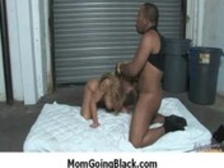 watch my mommy going dark - hradcore interracial