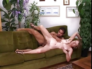 old slender granny fucks with young