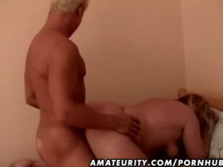 fat non-professional older wife screwed by a