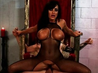 gothic breasty mother i copulates tattooed lad