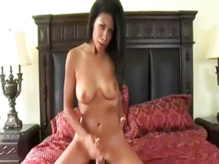 lascivious mama giving a cook jerking by troc