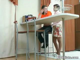 mom is horny as she is gently touches lad part8