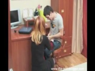 russian mama copulates her sons superlatively
