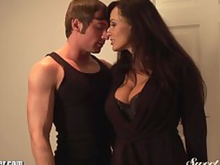 lisa ann bonks young muscled stud