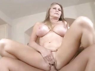 hot blonde momma dyanna lauren slams her wet love