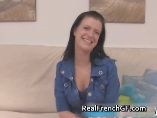 brunette hair french gf sucks and receives part5