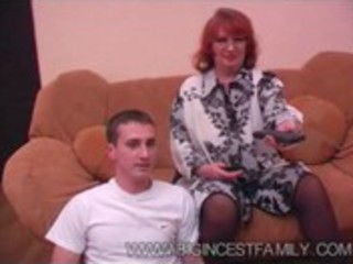 Russian big family - grandma &_ son #2