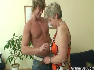 lonely granny acquires screwed in various poses