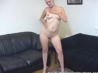 exposed naked masturbation instructor gets busy