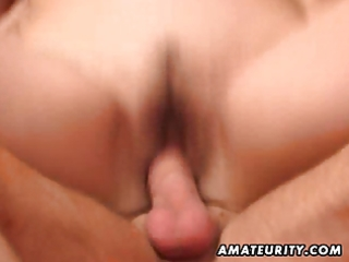 naughty amateur milf sucks and bonks a young guy