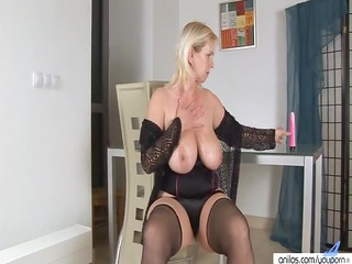 plastic enjoyment with blond busty