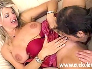 Sexy Cuckold Wife Vicky Vette Fucks The Gardner